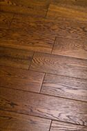 Инженерная доска Global Parquet Light Berry Oak Tangerine (2,5/400-1200*135*14мм)(2,43 м2/уп), Ф4, браш