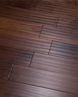 Инженерная доска Global Parquet Classic American Walnut Dark (4/400-1200*125*15 мм)(2,7 м2/уп), Ф4, скобление