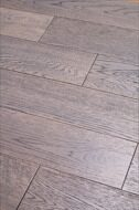 Инженерная доска Global Parquet Light Berry Oak Cream Currant (2,5/400-1200*135*14мм)(2,43 м2/уп), Ф4, браш