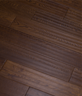 Инженерная доска Global Parquet Classic Oak Pecan (4/400-1200*125*15 мм)(2,7 м2/уп), Ф4, скобление